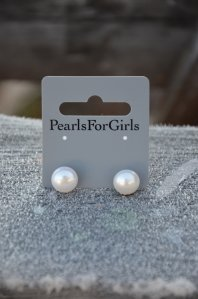 Eve Pearls, örhänge, 96284-00, Pearls for Girls